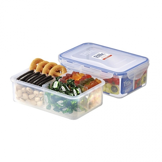 Easylock Large Capacity Food Containers With Dividers