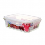 High-Borosilicate Glass Food Storage Containers