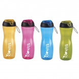 Portable Flip Top Plastic Water Bottles